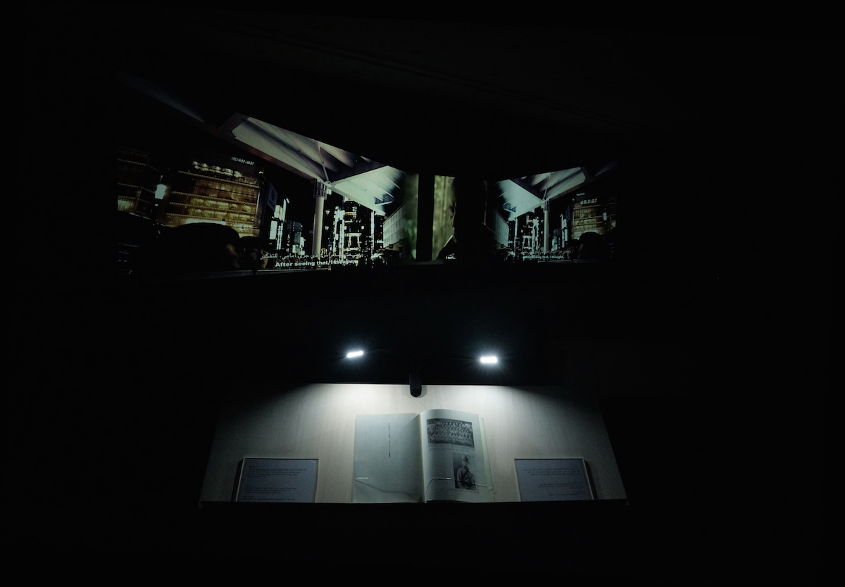 Meiro Koizumi, Angels of Testimony, installation view at Sharjah Biennale 2019