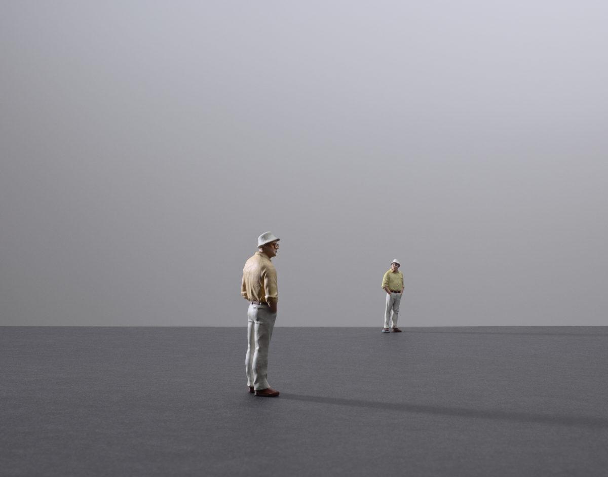 Nadav Kander, Solitude-Quietude-Contemplation, 2020. Courtesy the artist and Prix Pictet