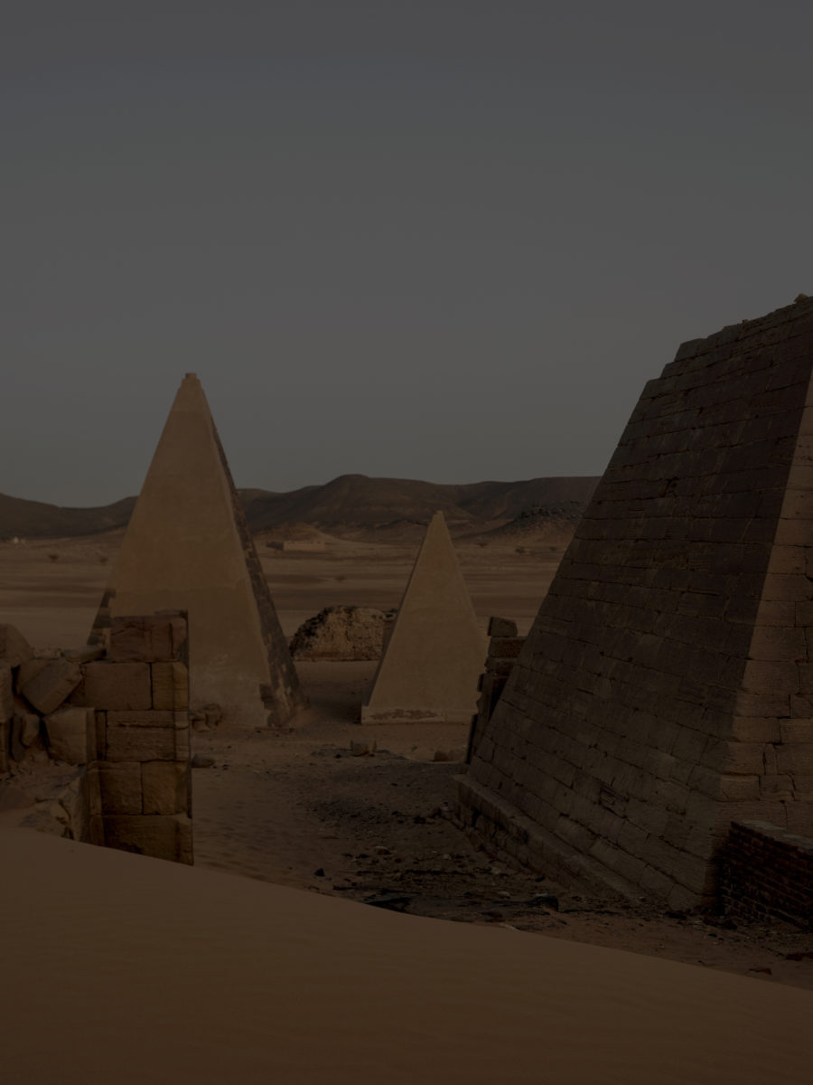 Philippe Chancel, Meroë, North Sudan, 2019. Courtesy the artist and Prix Pictet
