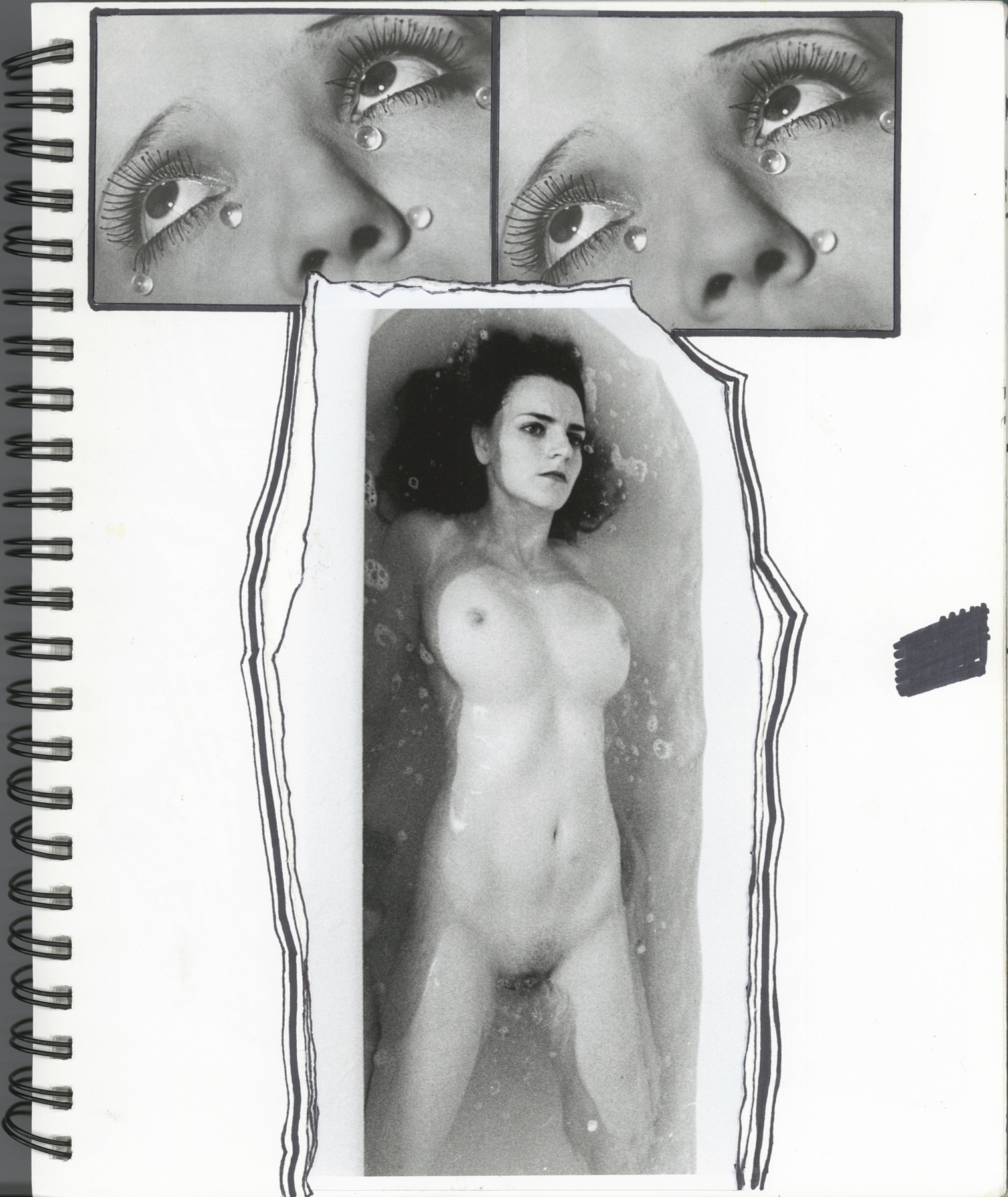 Liv Fontaine, sketchbook page, 2012