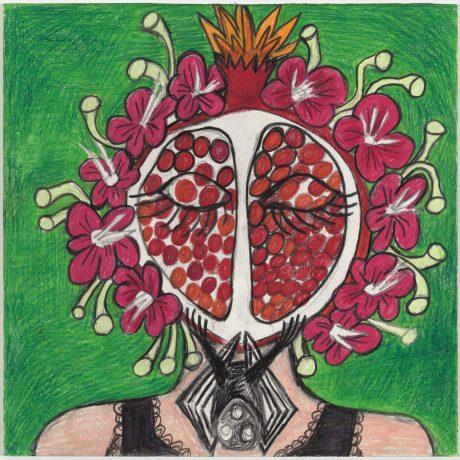 Rebecca Goyette Goddess Power Drawing Series Persephone, 2020-21