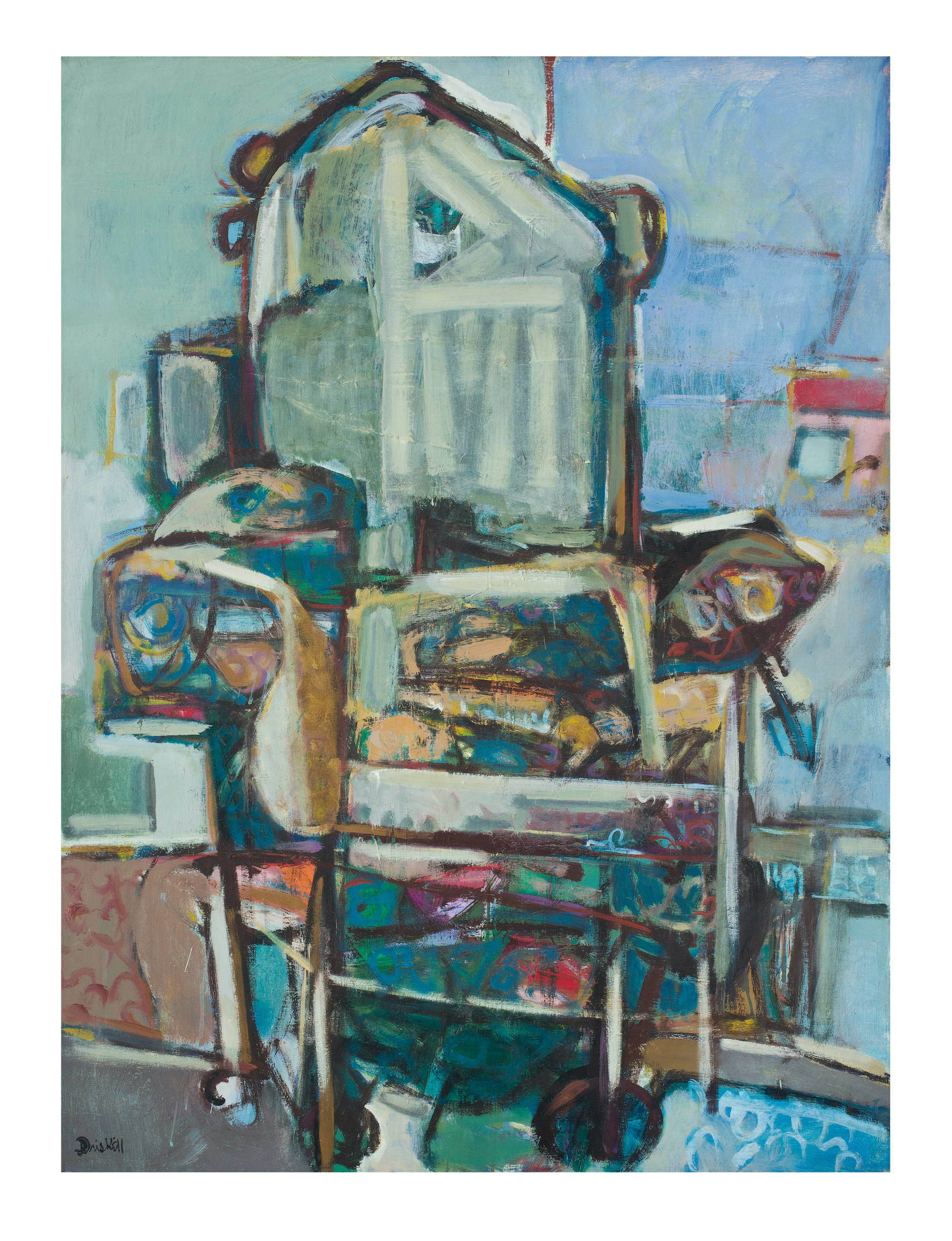 Antique Chair, 1975. © Estate of David C Driskell, courtesy DC Moore Gallery, New York