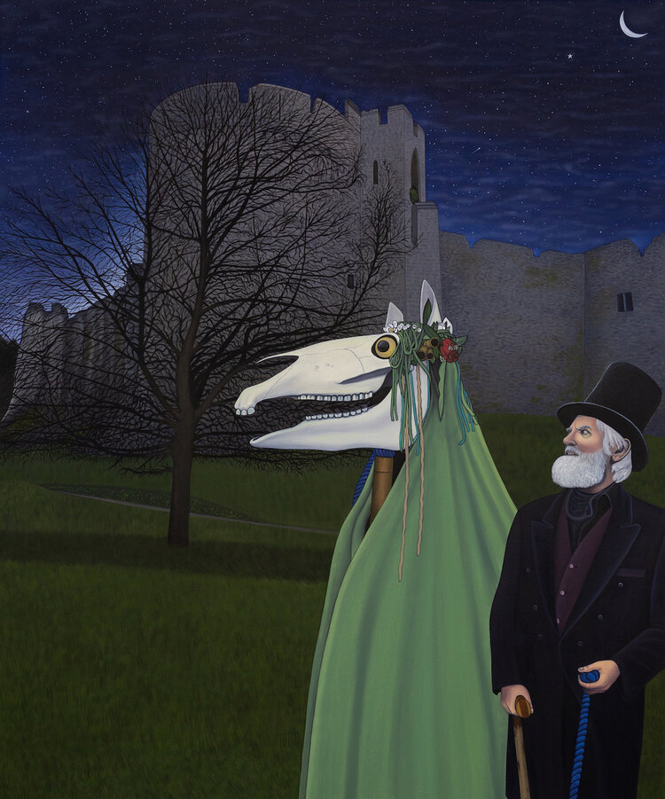 6)The Mari Lwyd