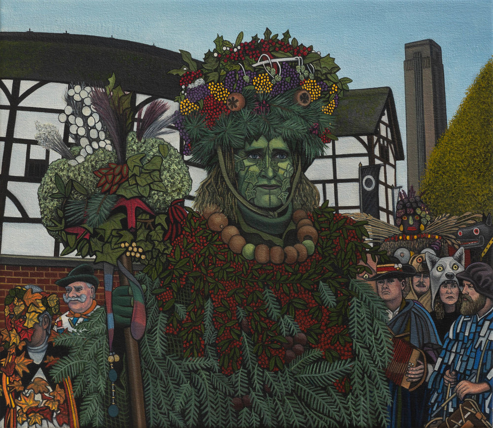 Ben Edge, Green Man of Bankside