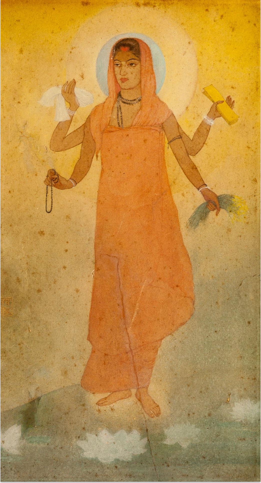 Abanindranath Tagore, Bharat Mata, 1905