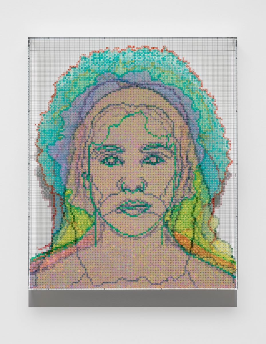 Face #13, Ellen Yoshi Tani (Japanese/Irish/Danish/English), 2020. © Charles Gaines Courtesy the artist and Hauser & Wirth