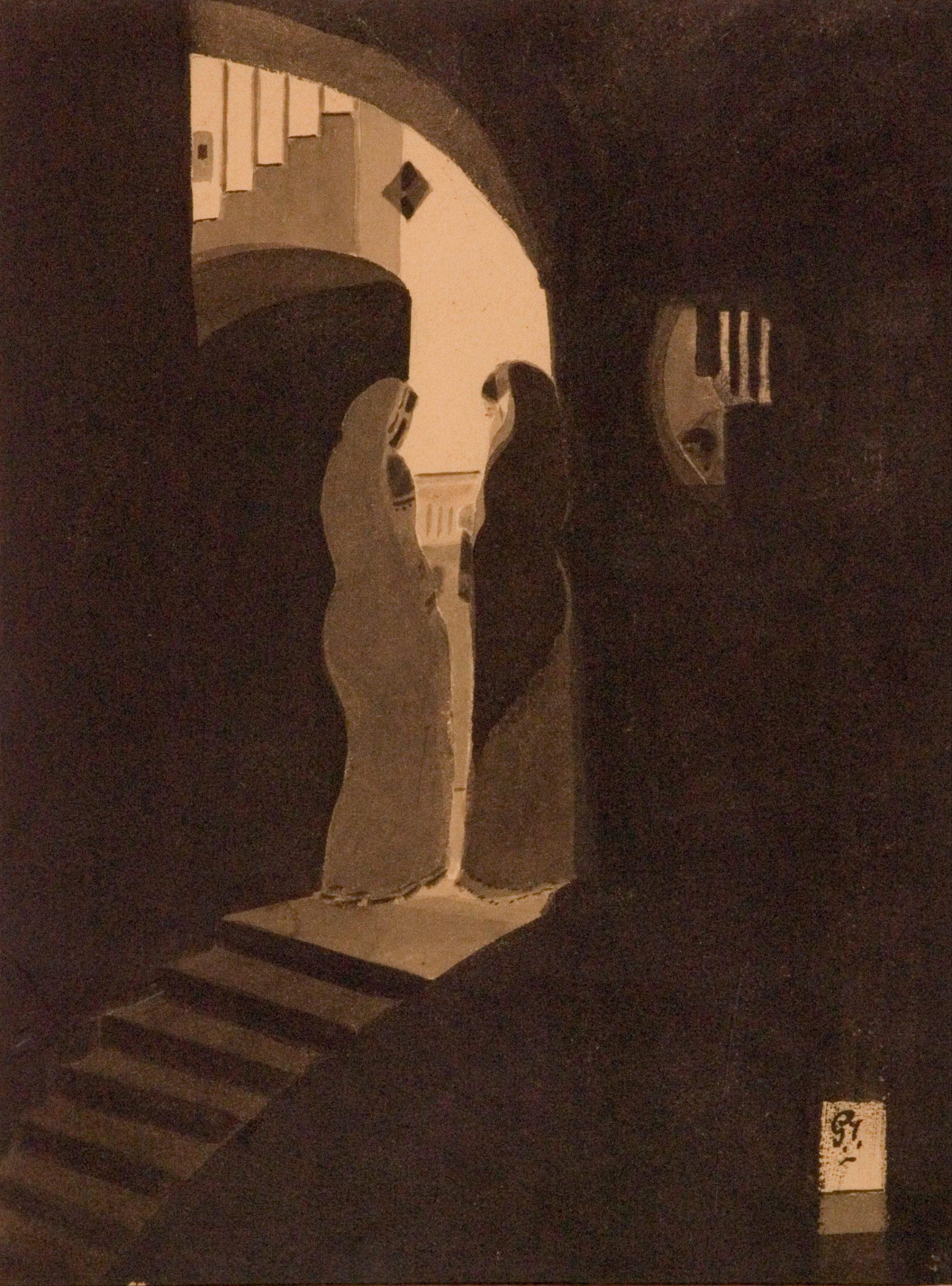 Gaganendranath Tagore, Meeting at the Staircase, 1920-1925
