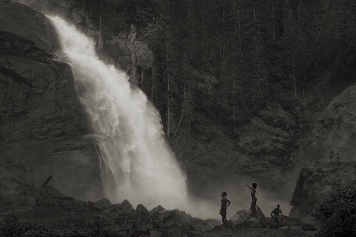 Im Wald_Am Wasserfall_2020