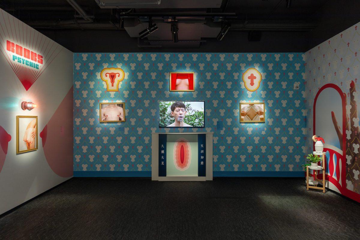 Installation view of Pixy Liao, Your Gaze Belongs to Me. Courtesy Fotografiska New York. Photo by Charles Benton