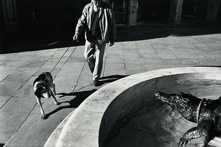 Richard Kalvar Nîmes, France, 1989. © 2021 Richard Kalvar/Magnum Photos. Courtesy Thames & Hudson