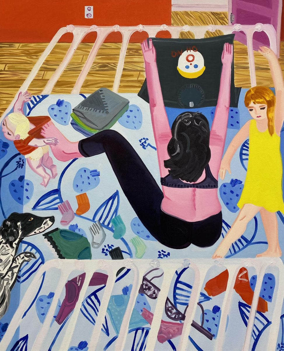 Madeline Donahue, Missing Socks (OH, NO!), 2021. Courtesy the artist