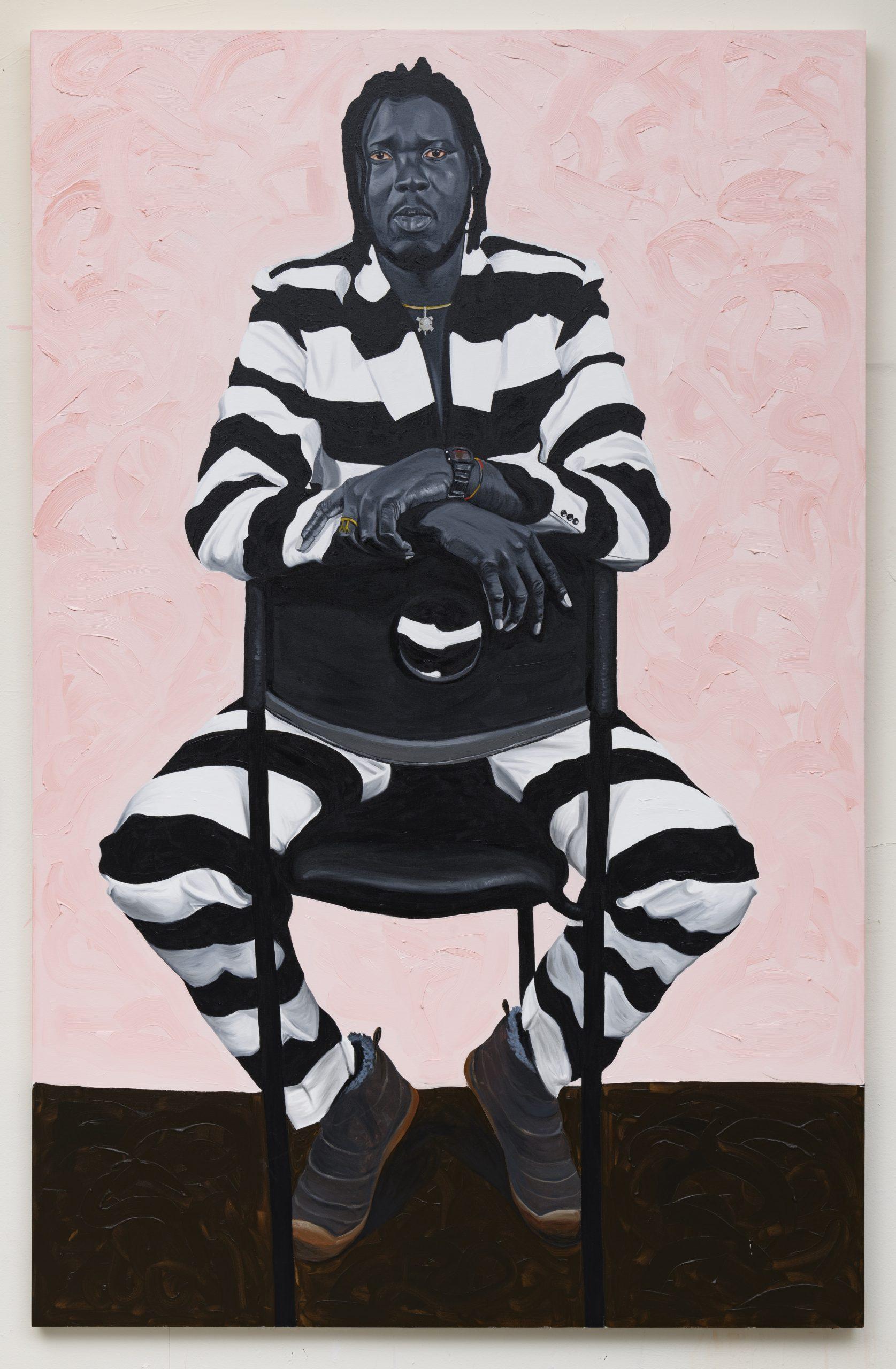 Otis Kwame Kye Quaicoe, The Artist II, Kwesi Botchway, 2019. Courtesy the artist and Roberts Projects, LA