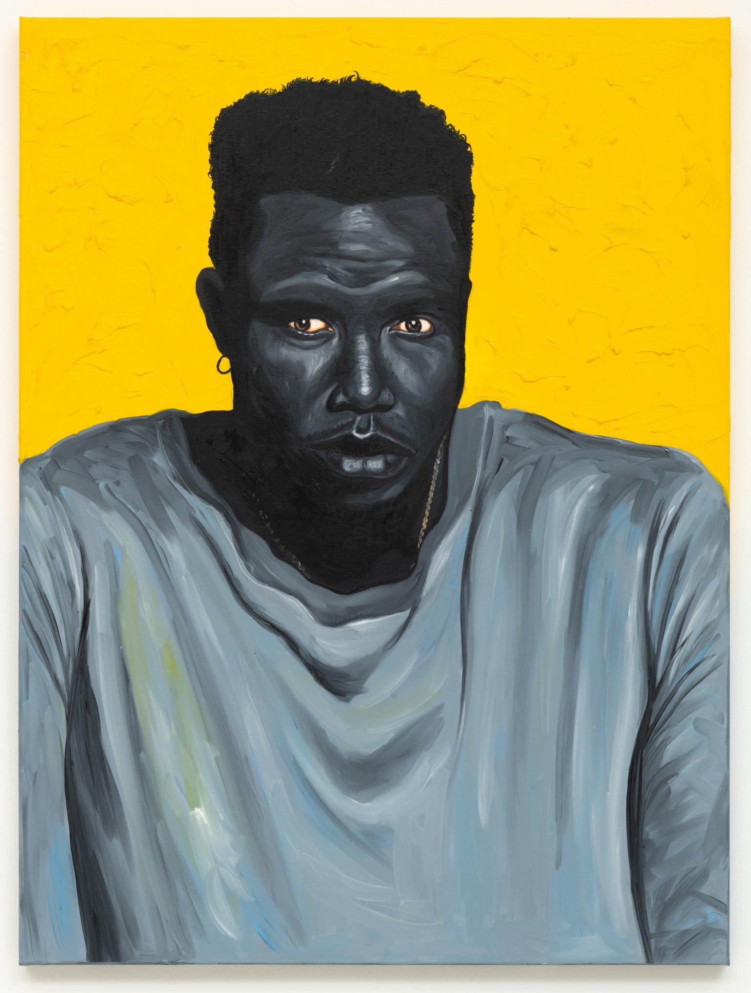 Otis Kwame Kye Quaicoe, Self-Portrait, 2019. Courtesy the artist and Roberts Projects, LA