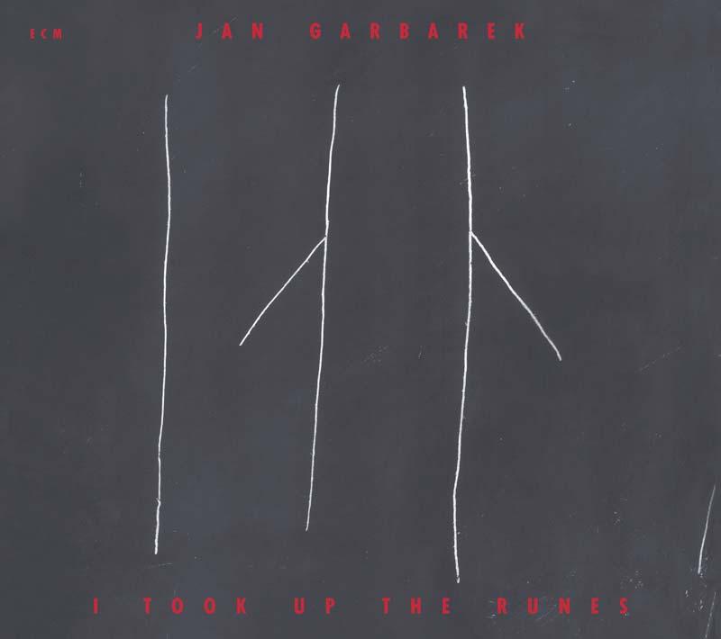 Jan Garbarek, I Took Up the Runes, 1990. Design: Barbara Wojirsch for ECM Records. Courtesy the artist