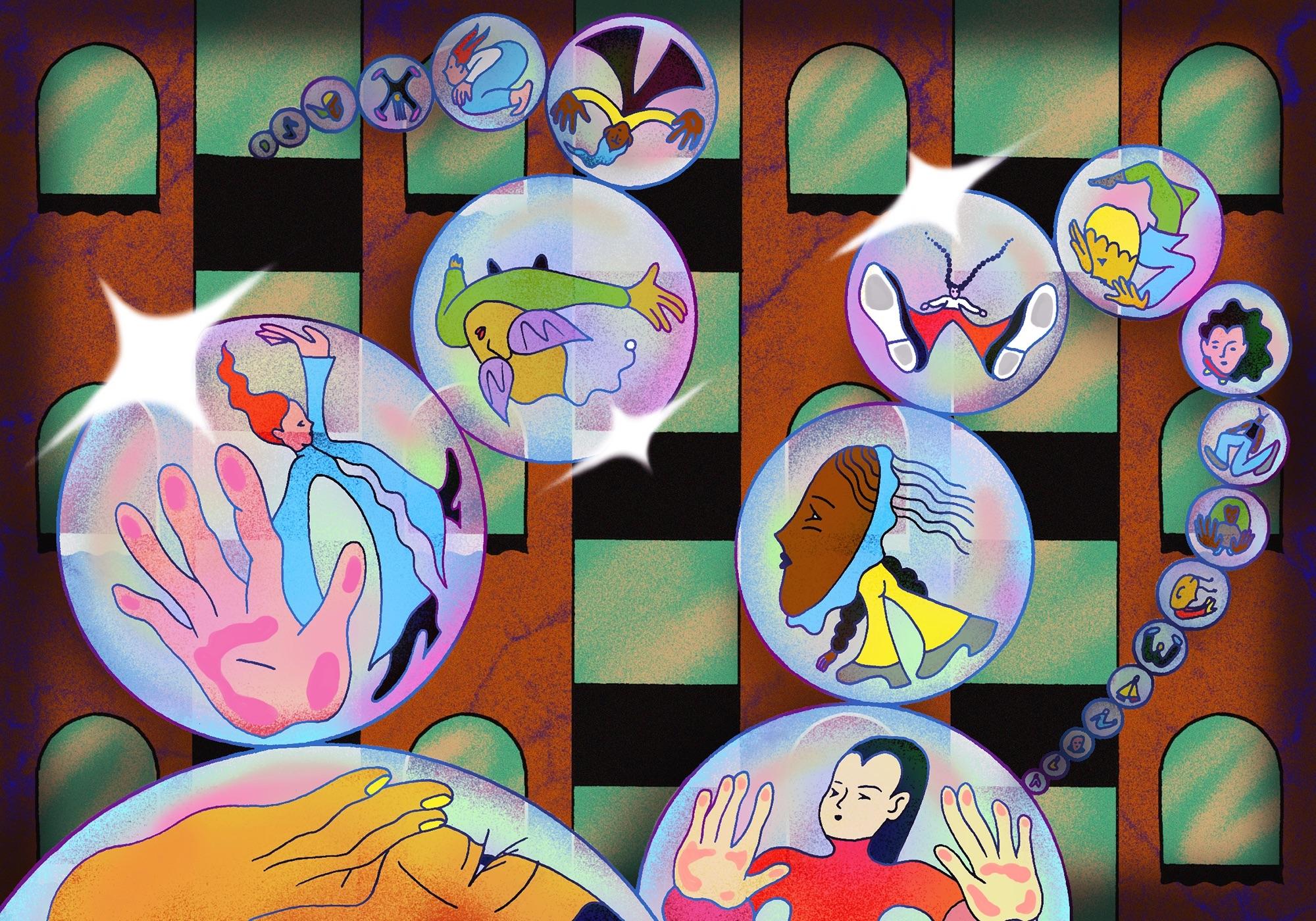 Illustration by Amina Bouajila for Elephant