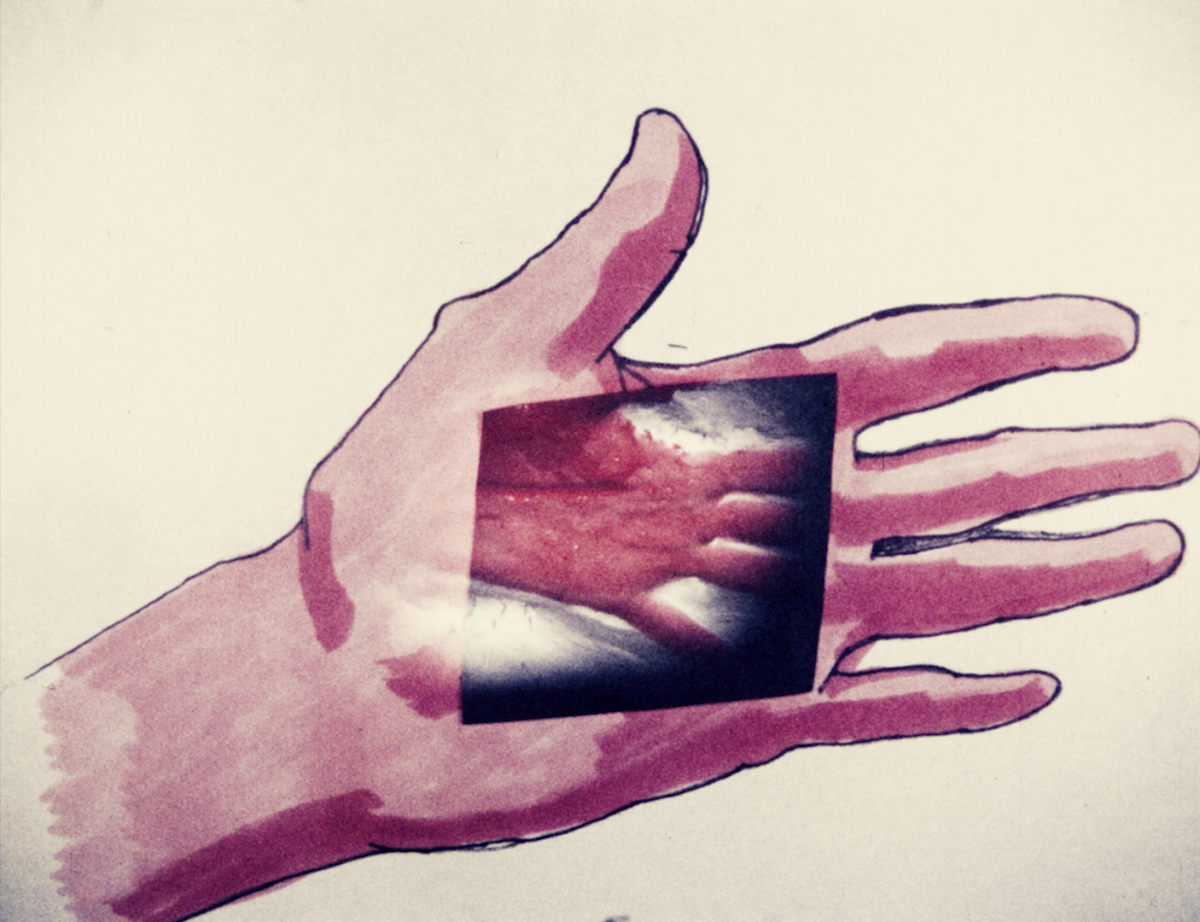 Maria Lassnig, Palmistry, 1973 (film still). Courtesy Another Gaze