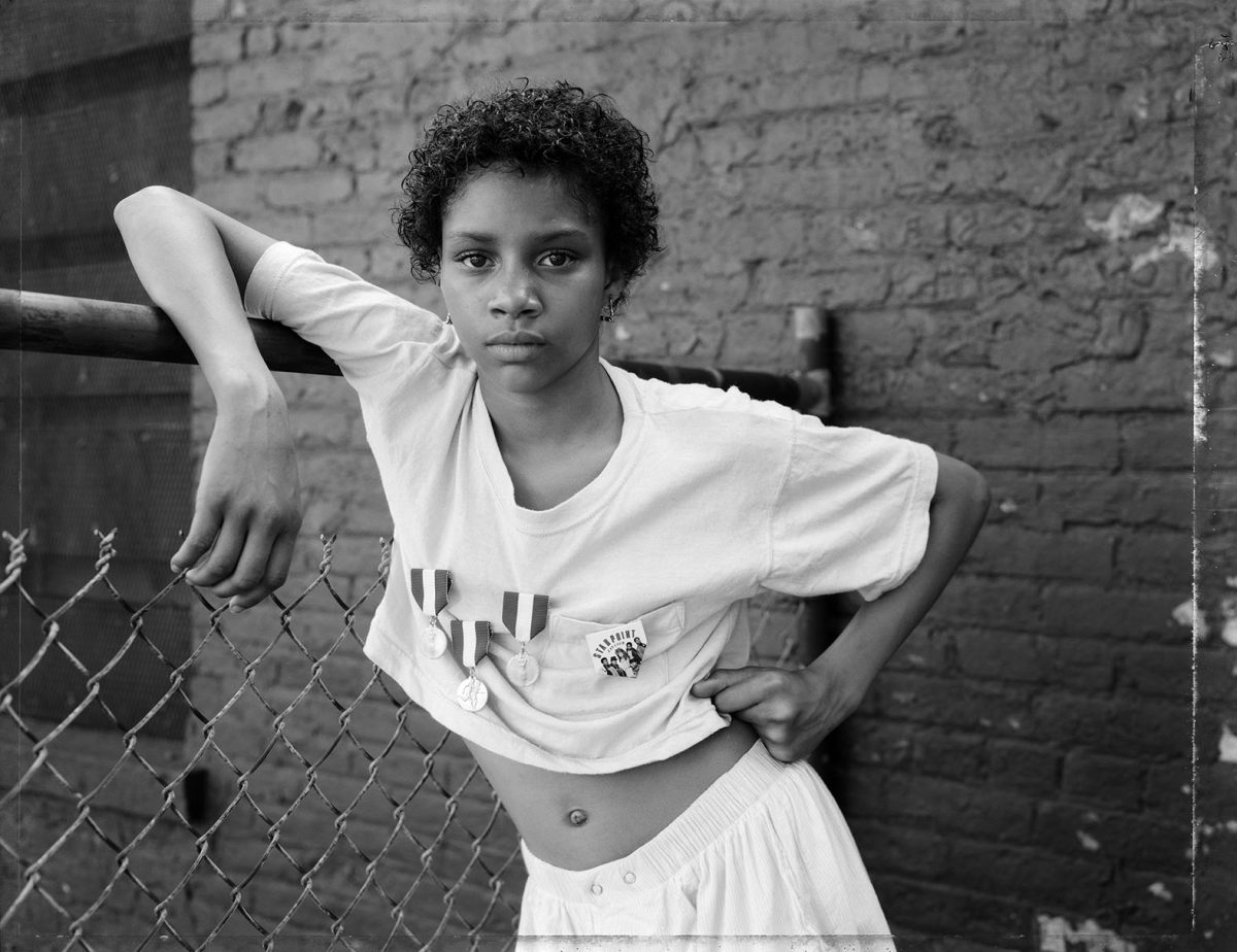 A Girl with School Medals, Brooklyn, NY, 1988. Courtesy the  artist and MACK