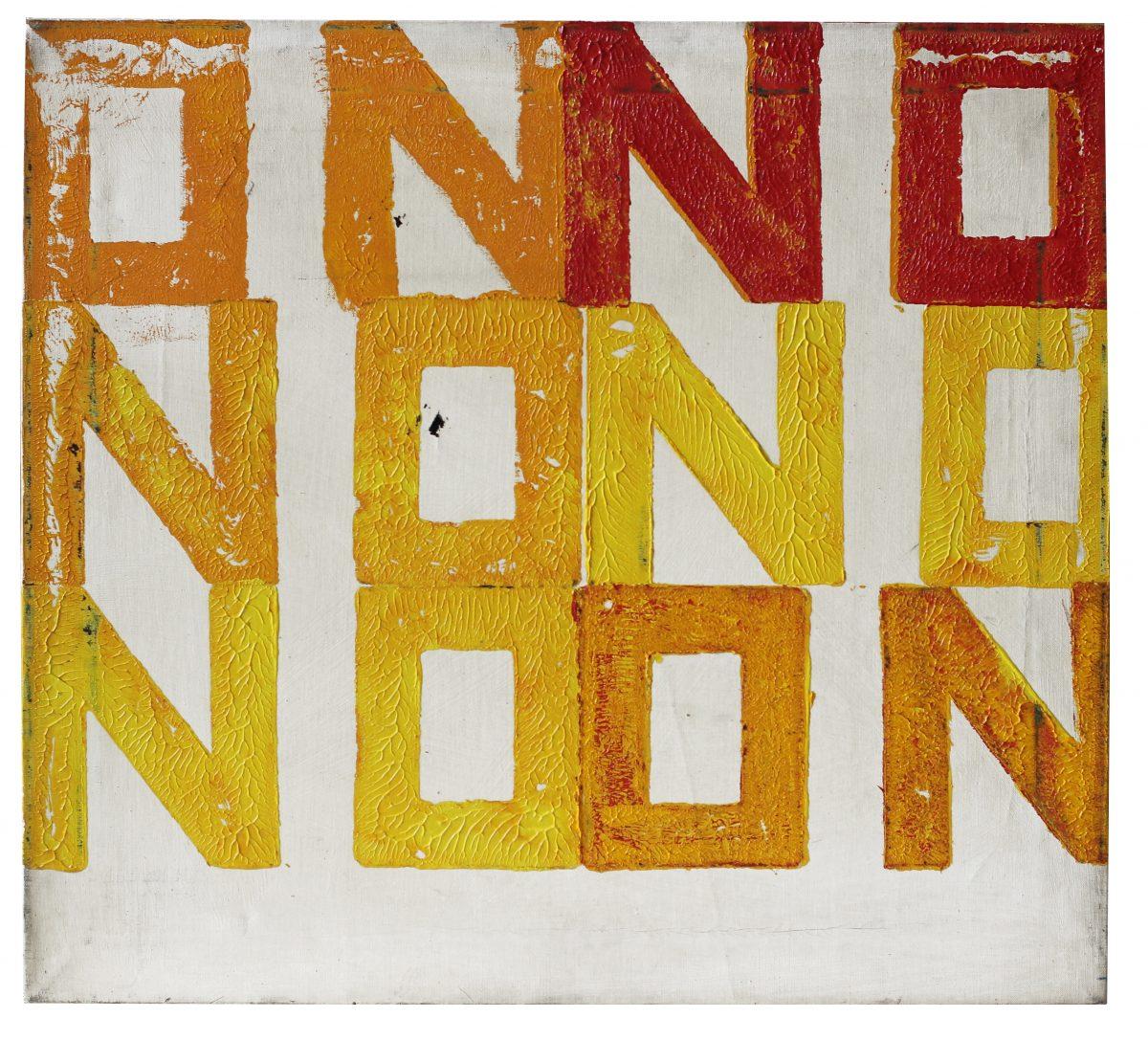 Boris Lurie, NO-ON, 1962. Image: Boris Lurie Art Foundation