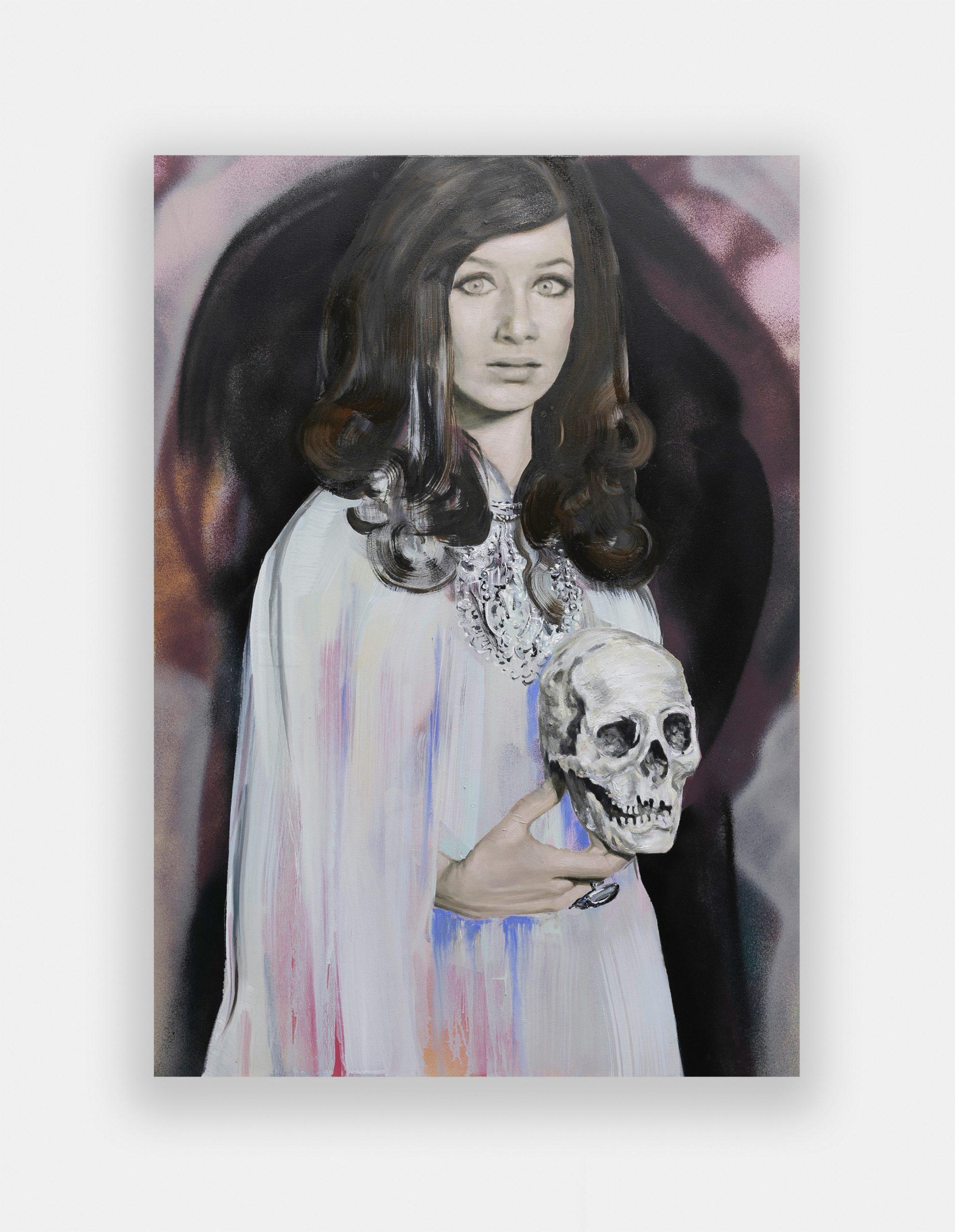 Paulina Olowska, Tera, The Queen, 2021. Courtesy Simon Lee Gallery