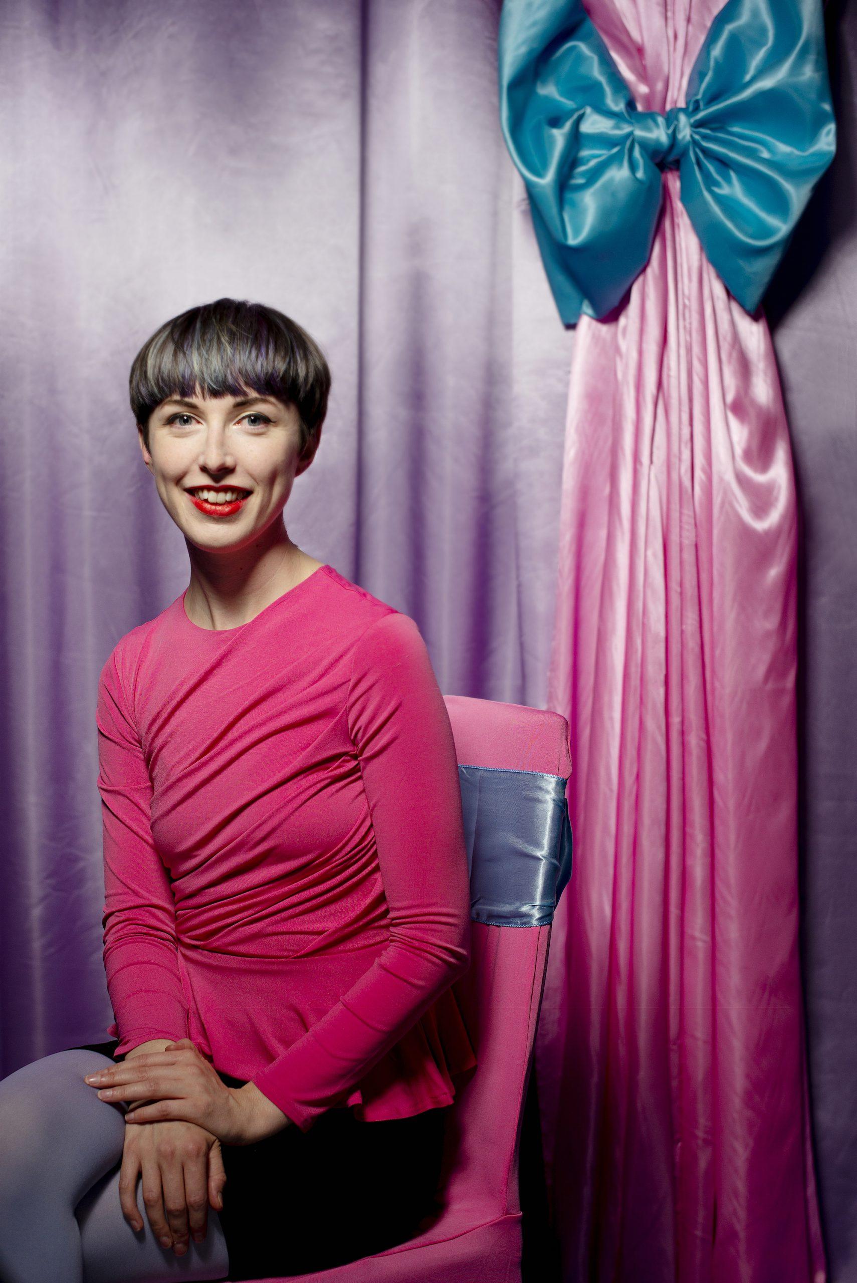 Rachel Maclean at the Zabludowicz collection, London. Photo © David Bebber