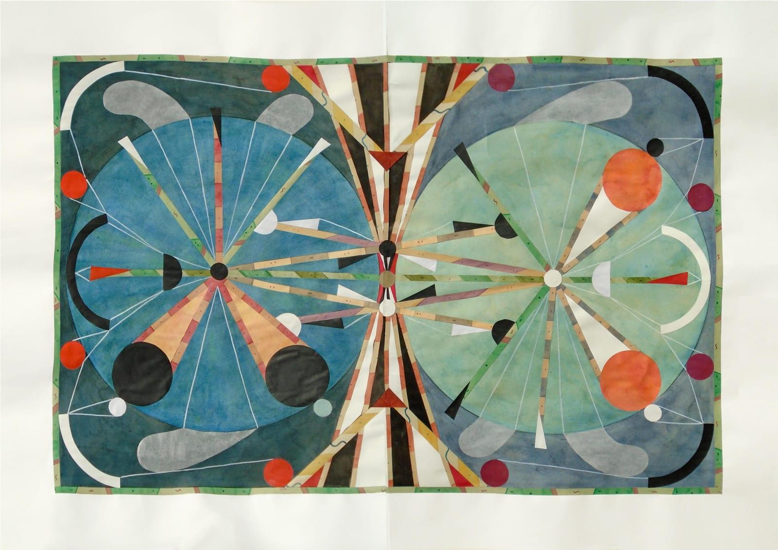 Rithika Merchant, Panorama III (Aether), 2021