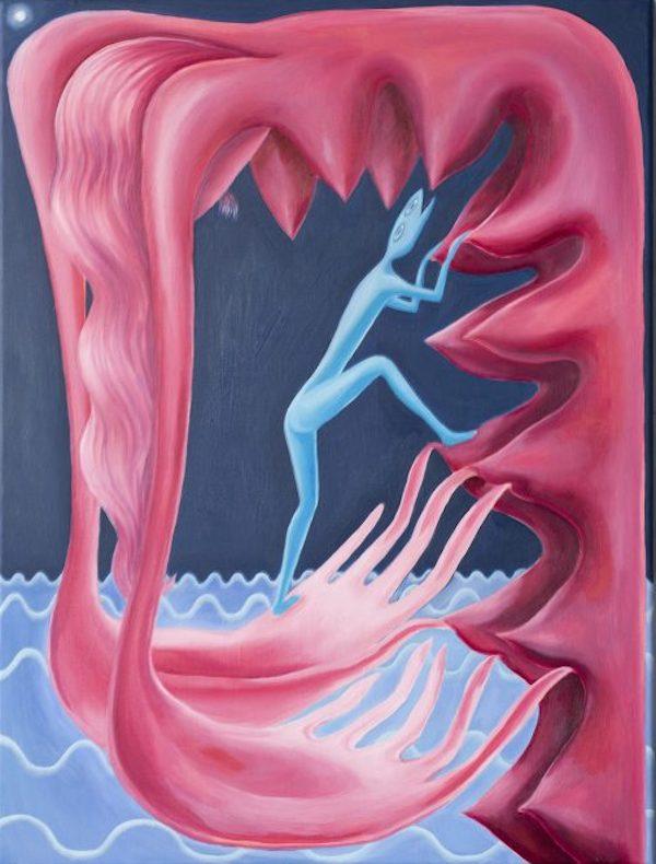 Alicia Reyes McNamara, Mamá, 2021. Courtesy the artist and Niru Ratnam Gallery