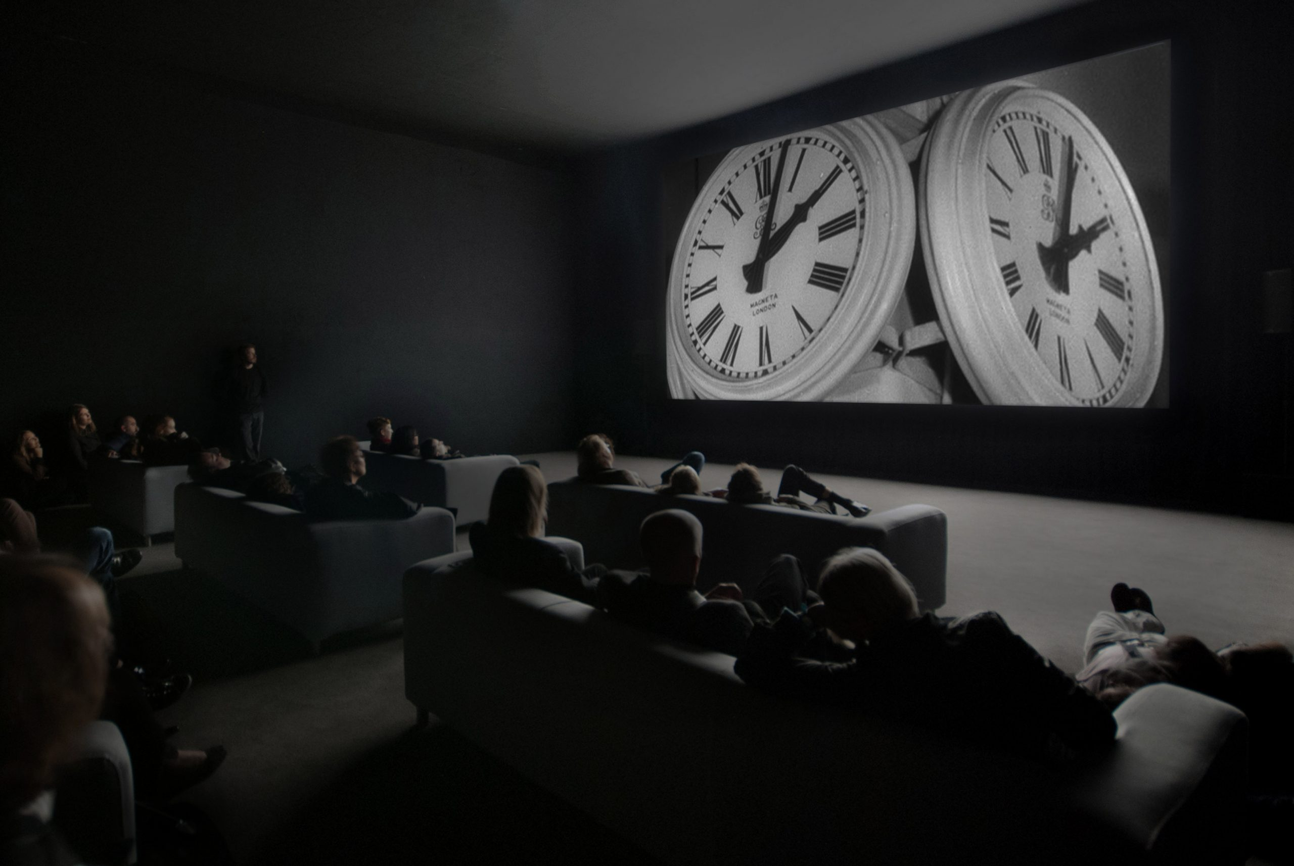 Christian Marclay, The Clock, 2010. Single-channel video installation. Duration: 24 hours © the artist. Photo © White Cube (Ben Westoby)