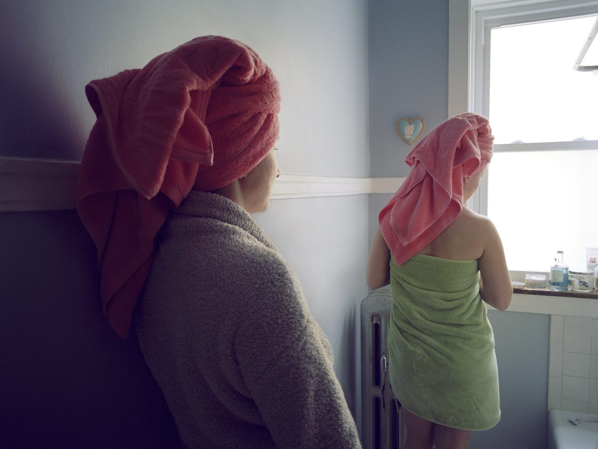 Kelli Connell, Hers and Hers, 2015, from Double Life. Courtesy the artist