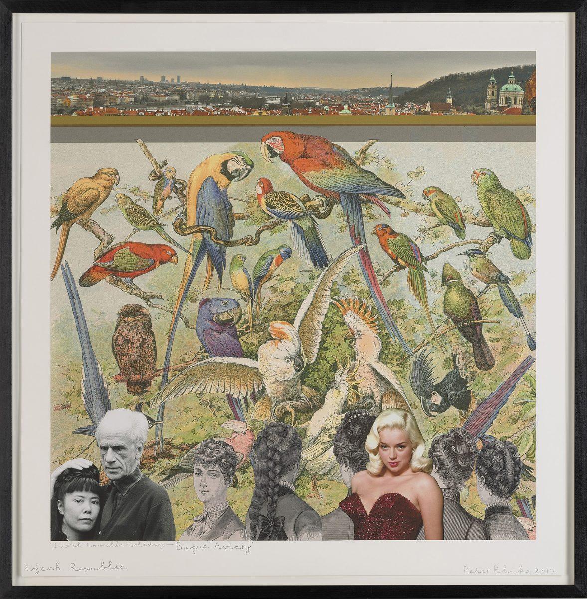 Joseph Cornell's Holiday—Czech Republic, Prague. 'Aviary', 2017