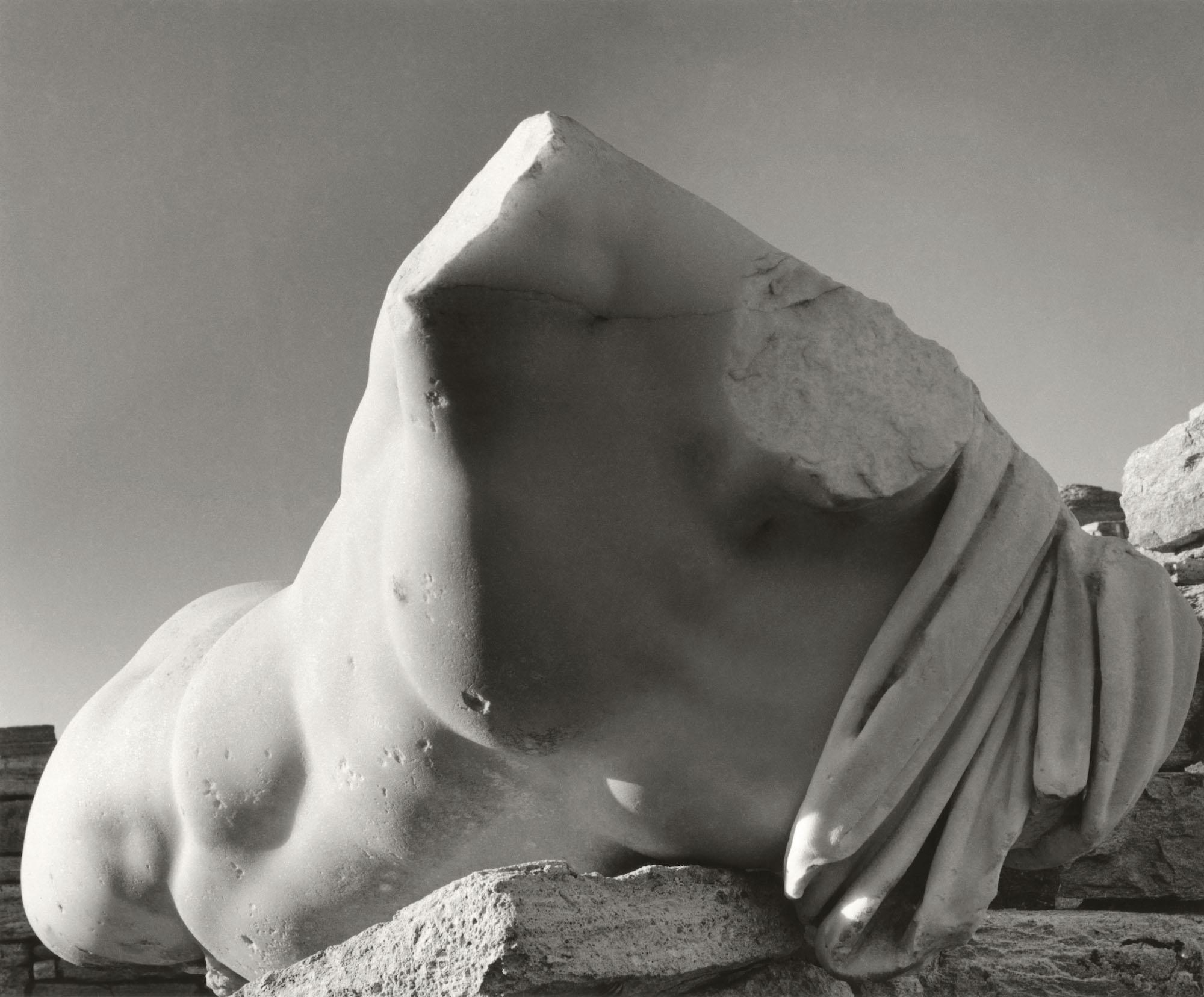 Greece, Cyclades, Island of Delos, Torso of Ophelius Ferus II © Herbert List / Magnum Photos