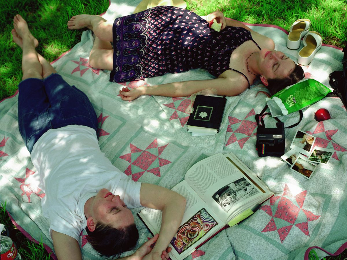 Kelli Connell, Picnic, 2002, from Double Life. Courtesy the artist