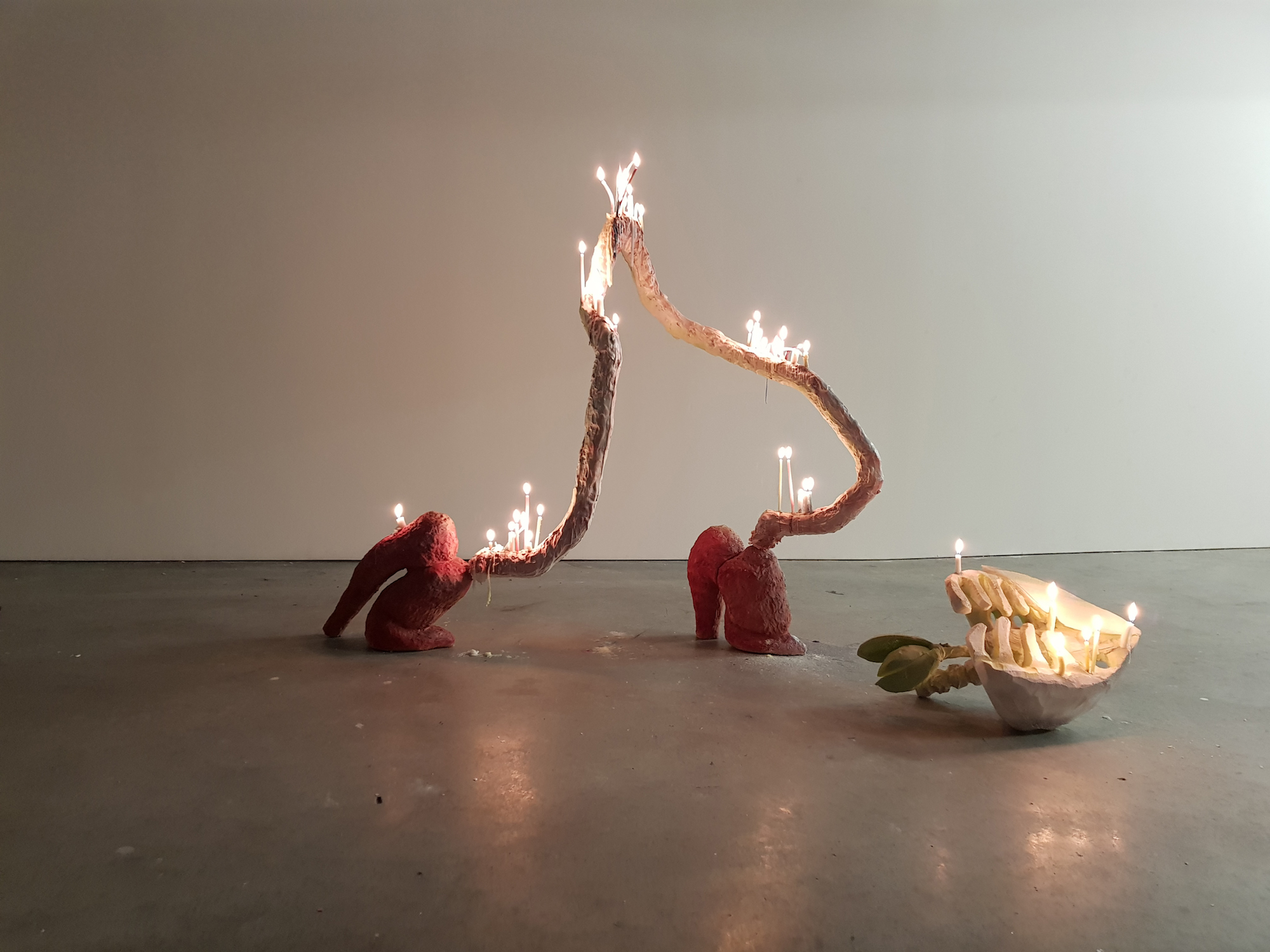 I Set Her Aflame As She Snuck Leaving Behind Her Rib Cage, Lungs, Heart and Liver, 2019