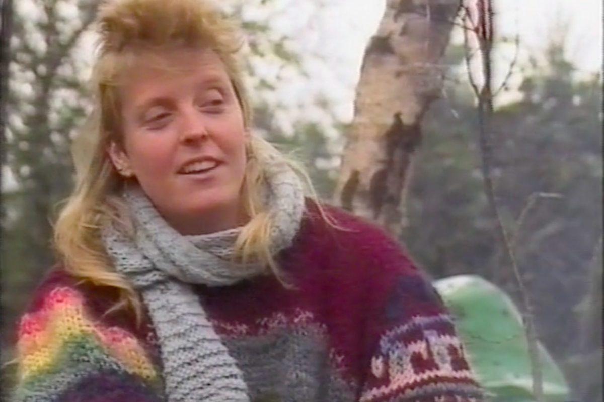 Video still, Non-Violence in Action, Concord Media, 1 hr 4 min, 1986. Image courtesy Ellen Lesperance