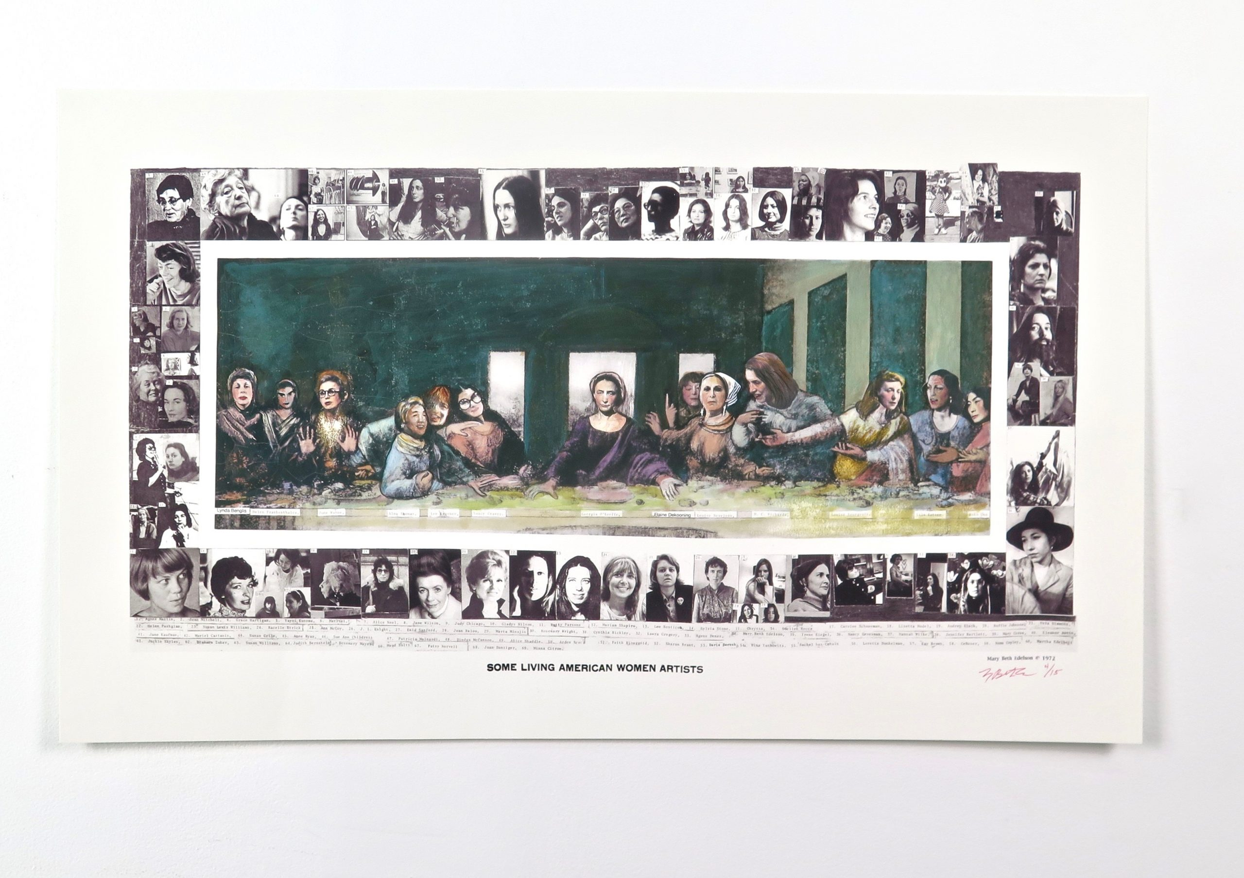 Some Living American Women Artists, 1972. Courtesy David Lewis Gallery