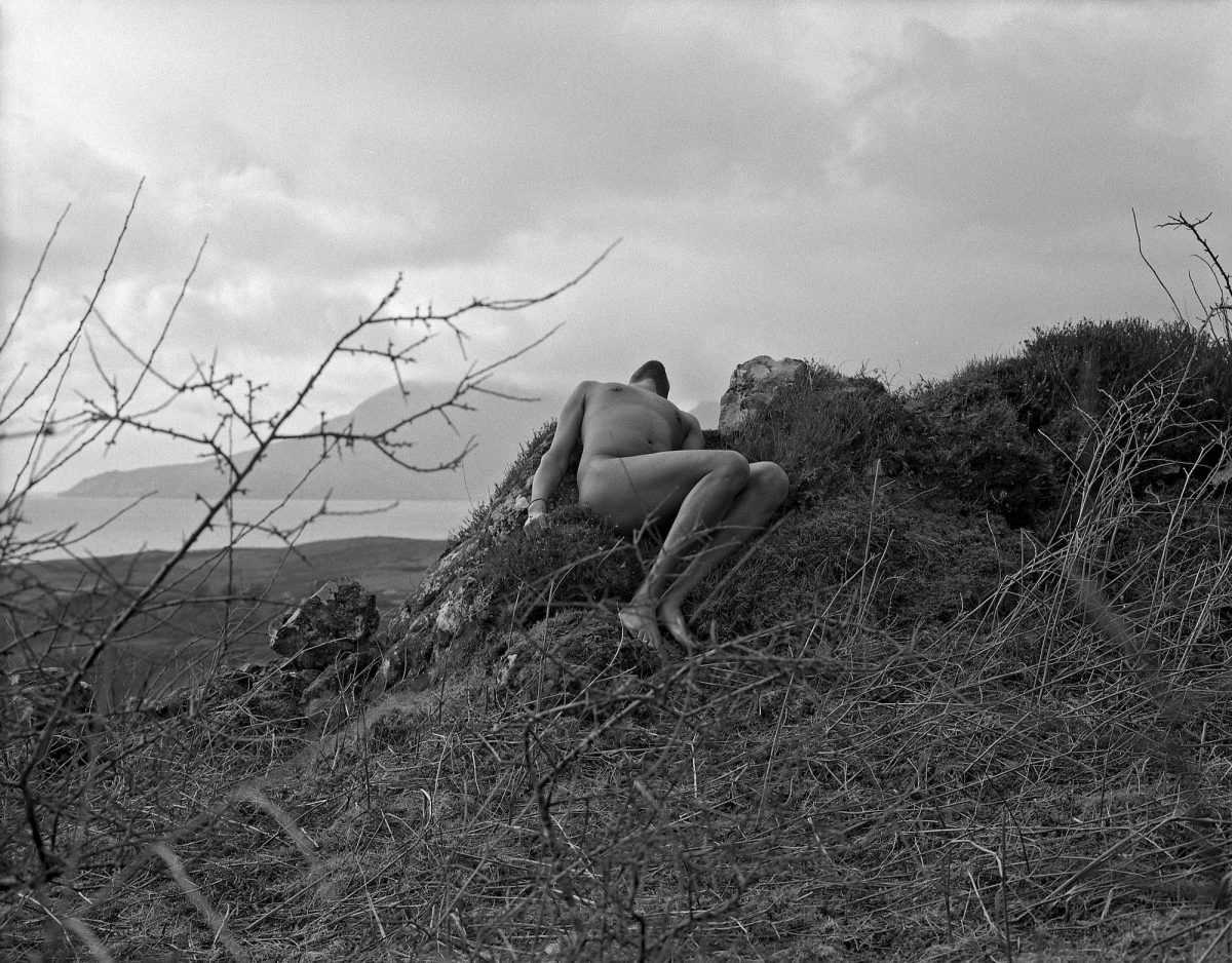 Matthew Arthur Williams, In guise of the land (self-portrait), 2020. Courtesy the artist