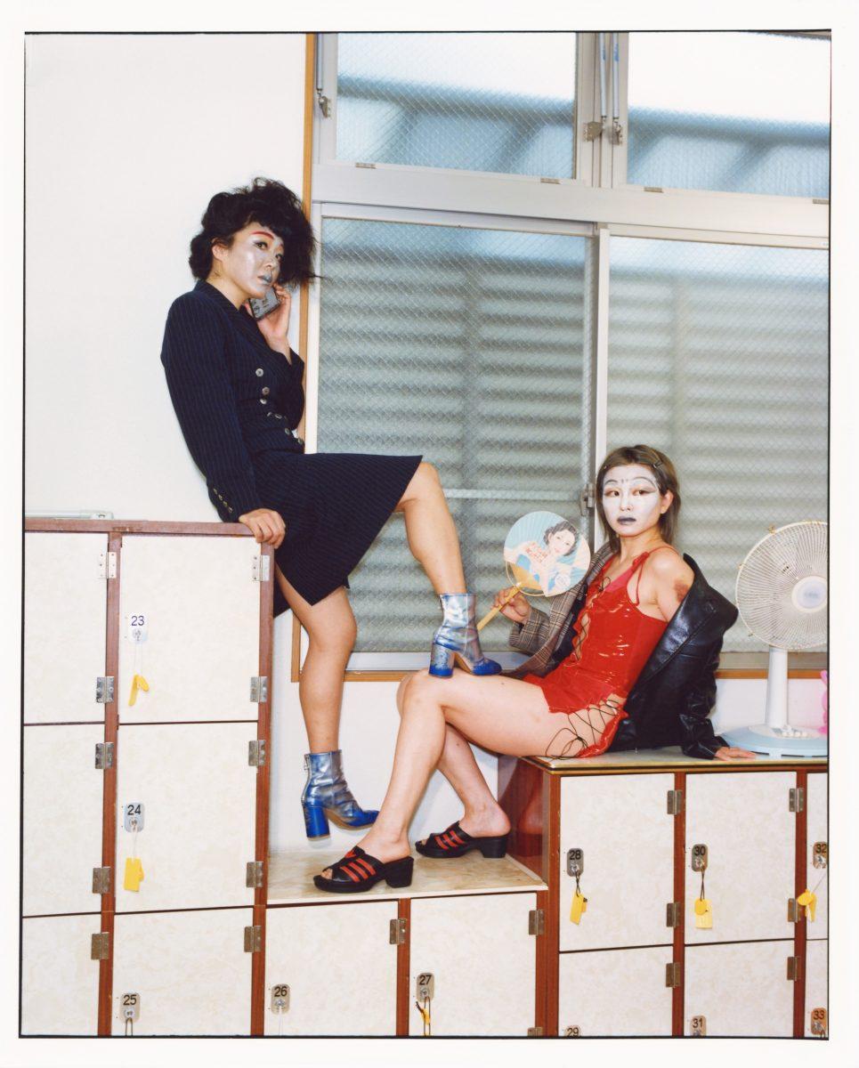 Motoko Ishibashi, Urara Tsuchiya, Yuto Kudo, Changing Room 1, 2021