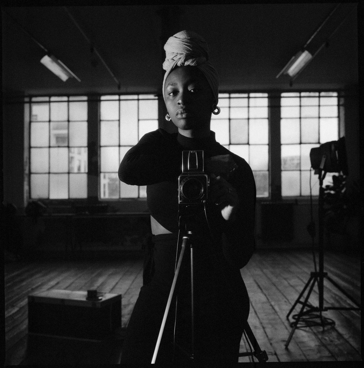 Adama Jalloh, The Self Portrait at HOME, 2020. Courtesy Ronan McKenzie/WePresent