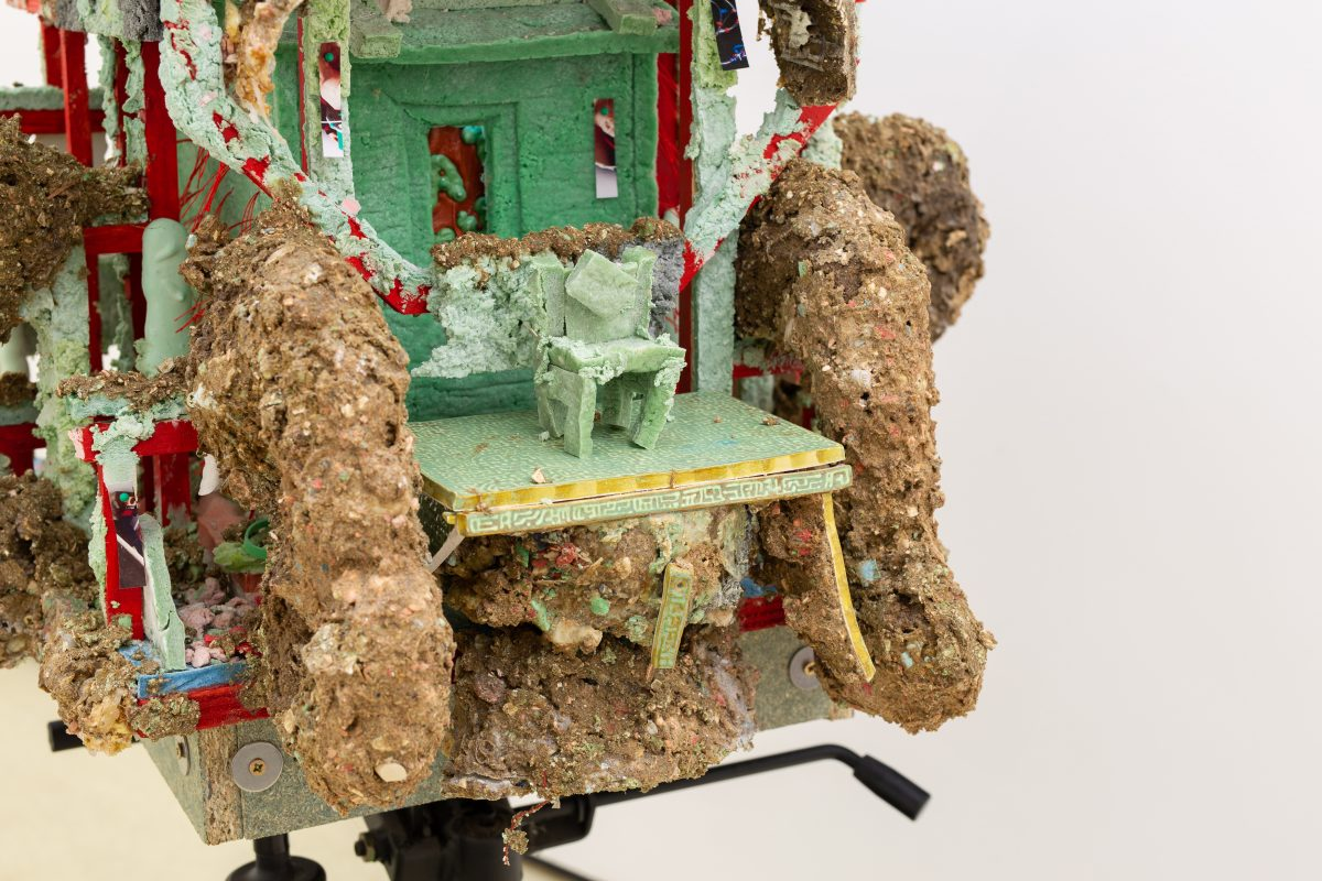 Killing Time Watching Gardening Videos (detail), 2021. Photo: Ollie Harrop. Courtesy Quench Gallery