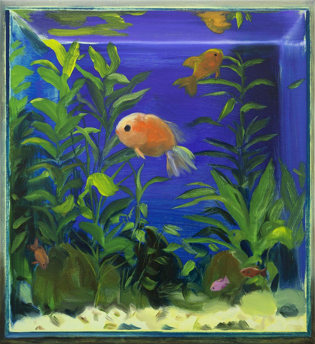 Fish Tank (Blue), 2018