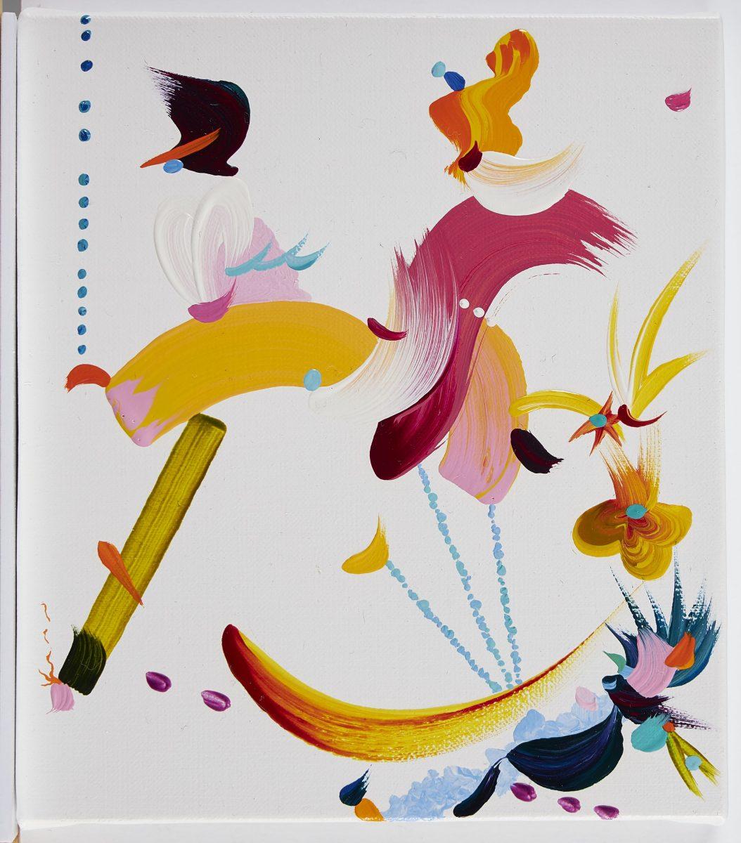 Fiona Rae, Abstract 01, 2020. © Fiona Rae