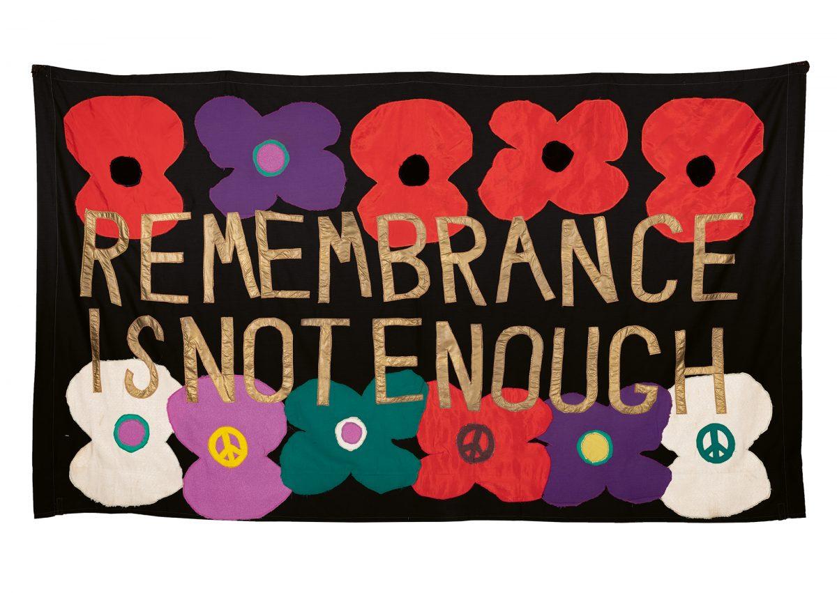 Thalia Campbell, Remembrance Is Not Enough. Photo: Eva Herzog