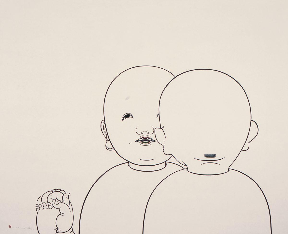 Machida Kumi, Three Persons, 2003. © Machida Kumi. Courtesy Nishimura Gallery