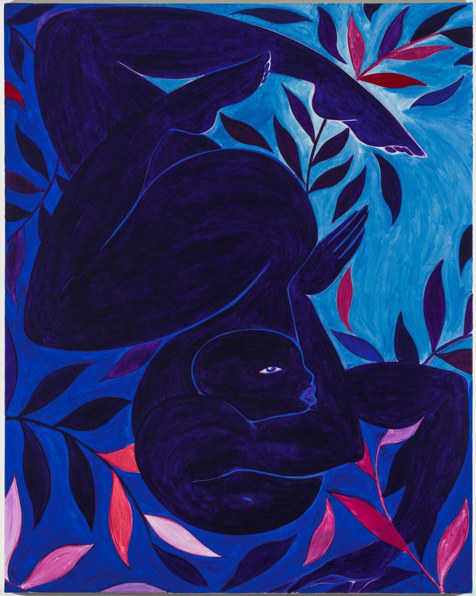 Tunji Adeniyi-Jones, Blue Dancer, 2017