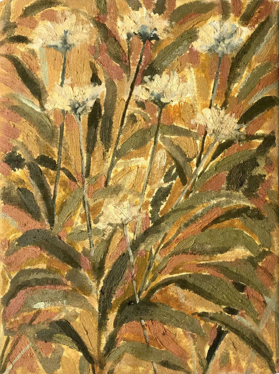 Beatrice Hasell-McCosh, Wild Garlic (Ochre, Orange), 2021