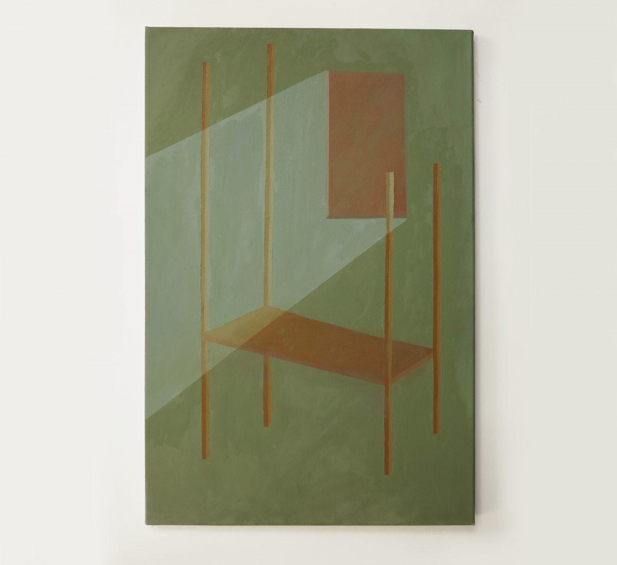 Nina Silverberg, Bed Green, 2021