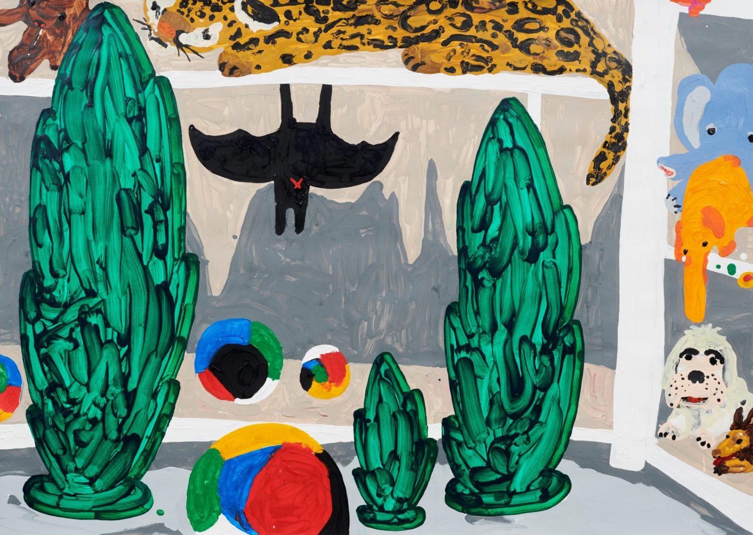 Philip Emde, .. Bat .. Ball … Leopard'n CO…., 2021