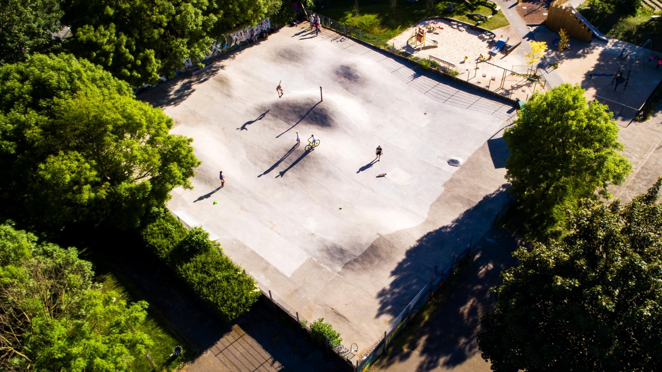 Jørn Tomter, Hackney Bumps, London 2020 © Jørn Tomter
