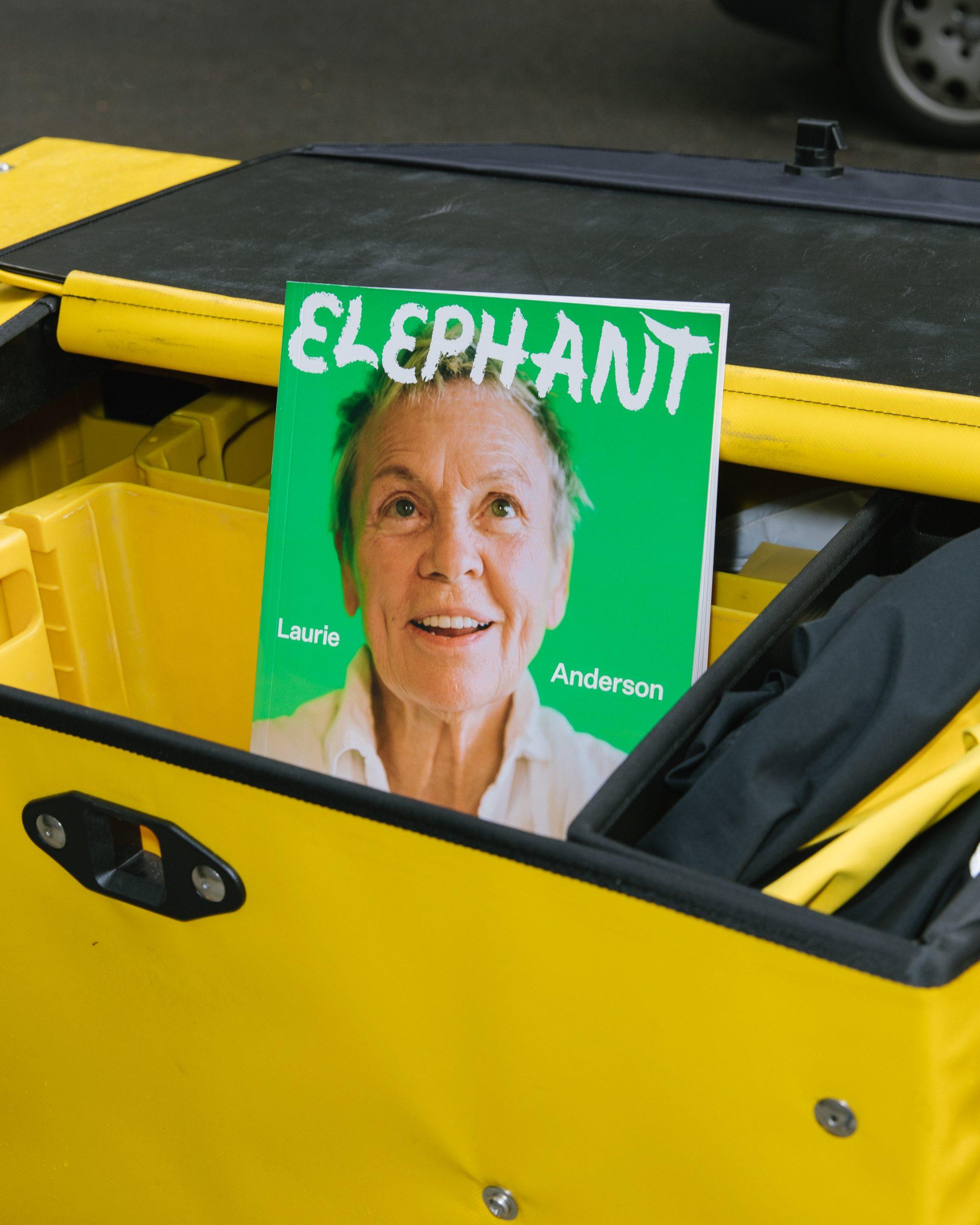 Laurie Anderson elephant magazine autumn winter