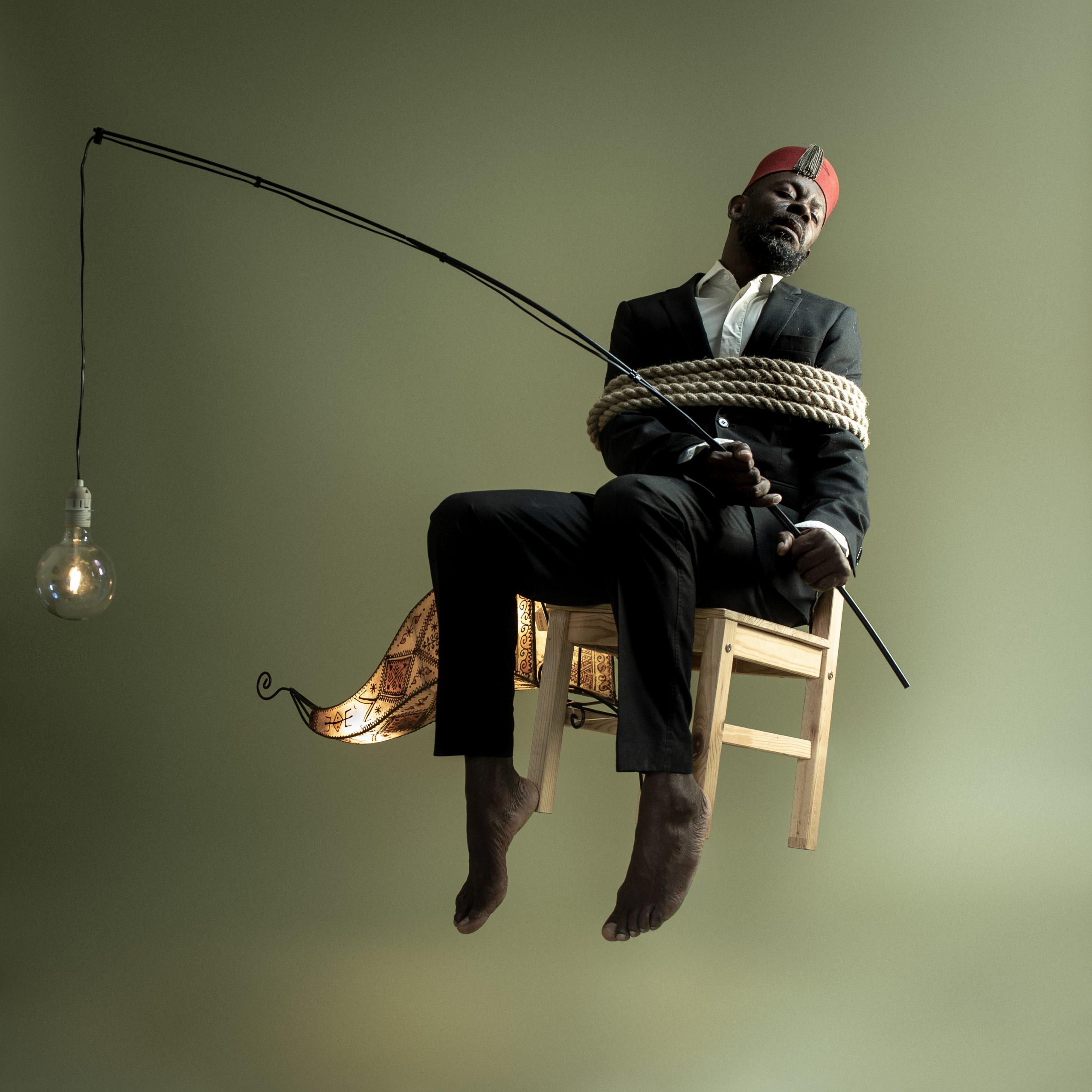 Benji Reid, Light Bearer, 2020. Courtesy the artist and October Gallery